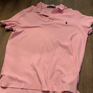 Xl pink Ralph Lauren polo